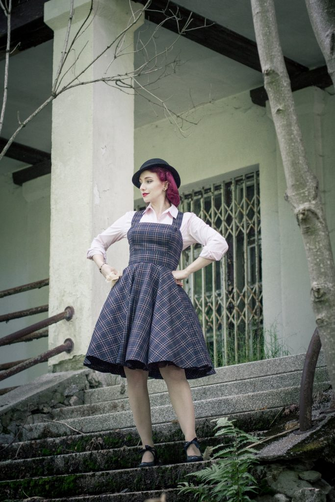 pinafore dress venusmantrap